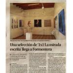 """1x1 La Mirada Escrita"" (Formentera) · Diario de Ibiza"